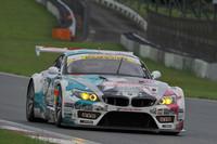 GT300クラスは、No.4 初音ミク グッドスマイル BMW(谷口信輝/番場 琢組)が今季2勝目をあげ、ポイントリーダーに躍り出た。