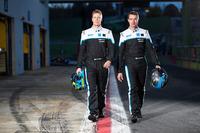 ポールスター・シアン・レーシングのドライバー、テッド・ビョーク選手(左)とフレドリック・エクブロム選手(右)。