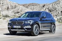 新型「BMW X3」。