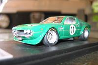 これが「アルファ・ロメオ・モントリオール」のミニカーです。僕のコレクションに加えたい逸品です。
