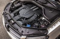 「GLE400 クーペ」に搭載される3リッターV6ツインターボエンジン。
