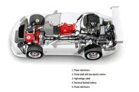 「ポルシェ911 GT3 R」にハイブリッドバージョン誕生【ジュネーブショー2010】の画像