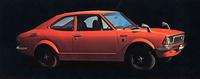 1972年3月に発売されたTE27こと初代「カローラ・レビン1600」。ボディカラーはこの「モンテローザオレンジ」と「インディアナポリスオリーブ」と呼ばれるダークグリーンの2色のみだった。