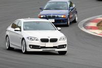 BMWアルピナといえばブルーやグリーンが定番だが、この日は他にもさまざまな色の車両が見受けられた。