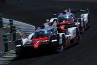 予選トップは、小林可夢偉がドライブしたNo.7 トヨタTS050 ハイブリッド。2位の座もトヨタが獲得した。