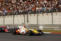 シンガポール、日本と2連勝したアロンソは、上位3台とは勝負にならなかったものの、その他を突き放して4位でフィニッシュ。ルノーはトヨタを破り、コンストラクターズランキング4位の座を決めた。(写真=Renault)