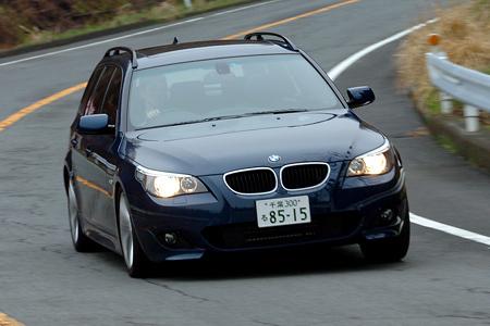 BMW 525ツーリング Mスポーツパッケージ(6AT)【ブリーフテスト】
