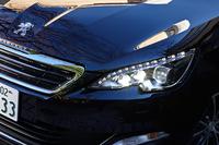 「308SWシエロ」には、フルLEDライトが標準で装備される。