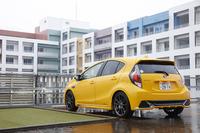 ボディーカラーは全7色の設定。テスト車のボディーを飾るデカールやストライプは、いずれも販売店オプション。