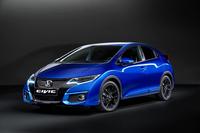 新グレードの「シビック スポーツ」(欧州専用車)。