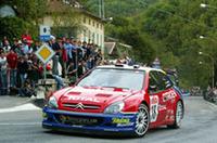 WRC第11戦サンレモ、シトロエンのロウブ優勝【WRC 03】の画像
