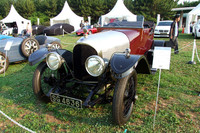「東京コンクール・デレガンス」では、ヴィンテージ・ベントレーの姿もたくさん見られた。これはベントレー初の量産モデルである1921年型「3リッター」。