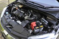 「ホンダ・グレイス」のパワーユニット。1.5リッター直4エンジンにモーターを組み合わせ、137psのシステム総出力を発生する。