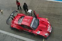 こちらはレーシングカーの同乗体験。SUPER GTの2013年シーズンを制したZENT CERUMO SC430(写真)のほか、ニュルを走った「LFA」などマシンもさまざま。