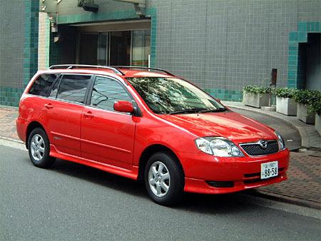 トヨタ・カローラフィールダー1.8S 4WD(4AT)【ブリーフテスト】