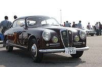 参加車両のなかでもっとも古い1951年式「アウレリアGT B20」。世界で初めて「GT」を名乗ったモデルである。