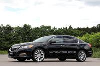 高速道路における自動運転技術が搭載された試作車。ベース車は「ホンダ・レジェンド」である。