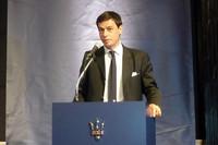 新会社社長に就任した、ファブリッツィオ・カッツォーリ氏。