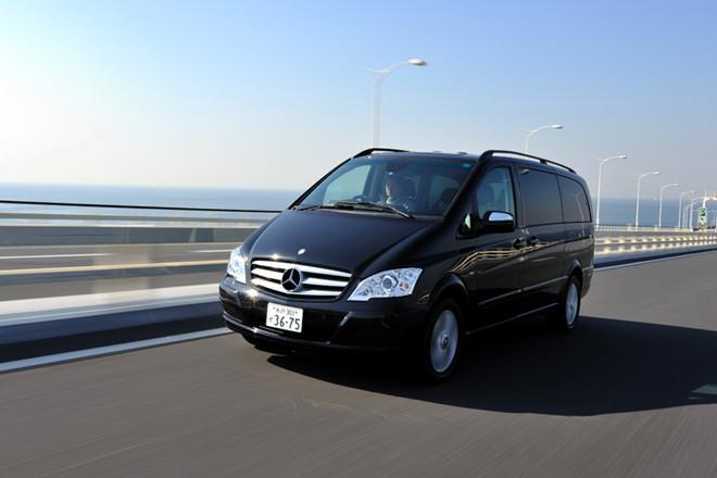 メルセデス・ベンツV350アンビエンテ ロング(FR/5AT)【試乗記】