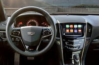 「Apple CarPlay」の表示イメージ。写真は北米仕様車のもの。