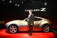 新型フェアレディZと日産自動車の志賀俊之COO