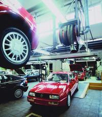 1988〜1995年にカルマンで造られた「フォルクスワーゲン・コラード」。