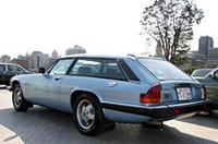 1983年式リンクス・イベンター。XJ-Sをベースに、コーチビルダー/チューナーのリンクスにより60台だけつくられた非常に希少なシューティング・ブレーク(ワゴン)。チャールズ皇太子もオーナーだったという。