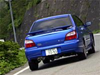 スバル・インプレッサWRX NB(5MT)【ブリーフテスト】の画像