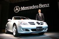 ベンツのロードスター「メルセデスベンツSLK」がフルモデルチェンジの画像