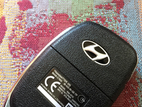 「i20」のリモコンキー(ただし、エンジン始動はボタン操作にあらず)は、オーナーの購入満足度をもう少し満たせる意匠が欲しいところ。