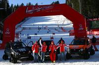 トレント県で行われたイベントには、F1軍団がこぞって参加。