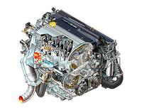 「L850」シリーズと呼ばれる新型オールアルミエンジン。86×86mmと、スクウェアなボア×ストロークをもつ。150psと175psのチューンには「ギャレットGT20」、210ps用には「三菱TDO4」ターボチャージャーが装着される。