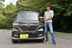谷口信輝の新車試乗――ホンダN-BOXカスタムG EXターボHonda SENSING(後編)
