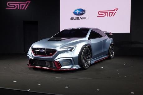 スバルと同社のモータースポーツ統括会社であるスバルテクニカインターナショナル(STI)が共同で設営した...