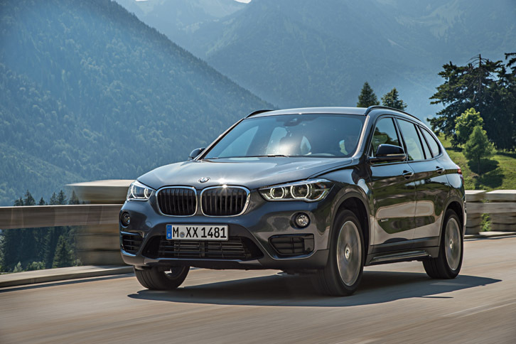 BMW X1 xDrive25i(4WD/8AT)【海外試乗記】