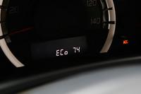 メーターパネル内には運転終了後、エコドライブ度を採点した「エコスコア」が表示される。