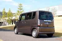 ホンダの新しい軽乗用車「N BOX」デビューの画像