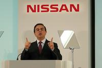 日産自動車のカルロス・ゴーン社長兼CEO