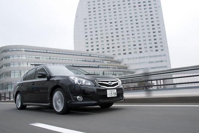 スバル・レガシィB4 2.5GT Sパッケージ(4WD/6MT)【試乗記】