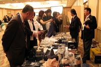 ふだんは青山ショールーム内にあるコーンズショップが会場に登場。こういった出店もイベントの楽しみのひとつ。