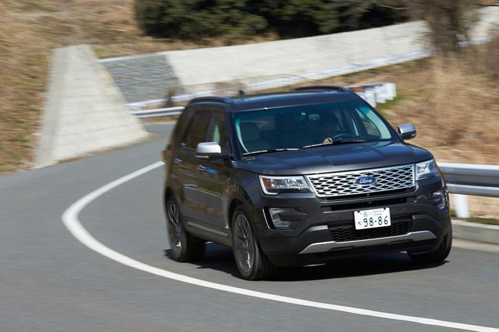 フォード・エクスプローラー タイタニアム(4WD/6AT)【レビュー】