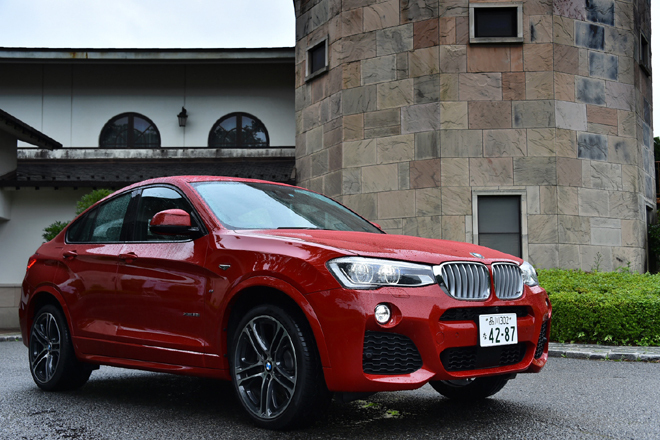 BMW X4 xDrive35i Mスポーツ(4WD/8AT)/X4 xDrive28i Mスポーツ(4WD/8AT)【試乗記】