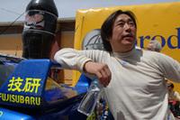スバルの新井敏弘(写真)は、2位入賞。