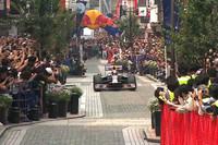 【Movie】日本初、F1が商店街を走行の画像