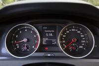 2眼式メーターは左が回転計で、右が速度計。8000rpm(レッドゾーンは6000rpmから)と280km/hまで刻まれる。
