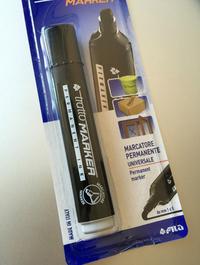 こちらは上と同じトラットの油性ペン。