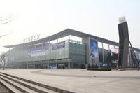こちらがソウル・モーターショーの会場となる施設、コンベンションセンター「KINTEX」。