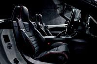 「ロードスターRF RS」のレカロ製のコンビシート。