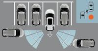 「CTA」とは車両の後方を監視し、駐車場からバックで出る際の安全性を確保する機能。