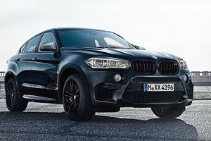 ブラックが決め手の「BMW X6 M」、限定発売